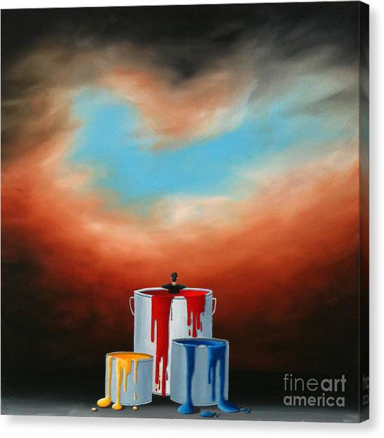 The Love Of Painting Canvas Print