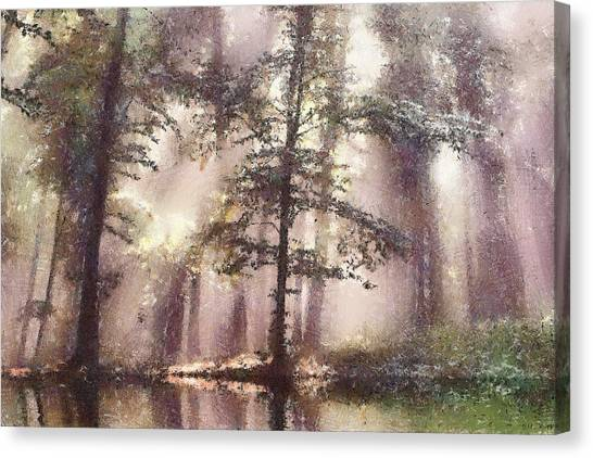 The Magic Forest Canvas Print by Odon Czintos