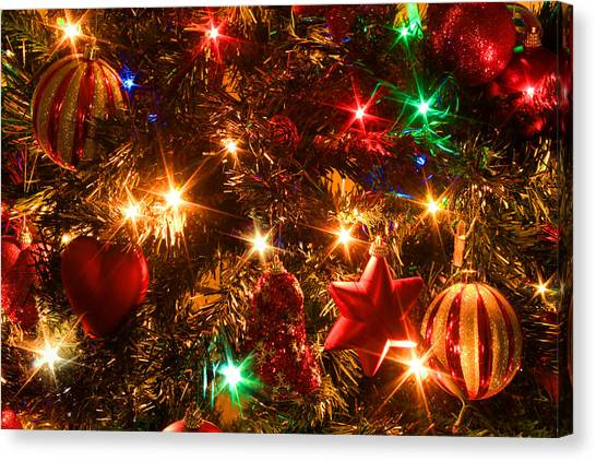 The Magic Of Christmas Canvas Print