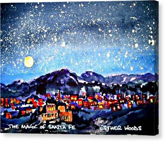 The Magic Of Santa Fe Canvas Print