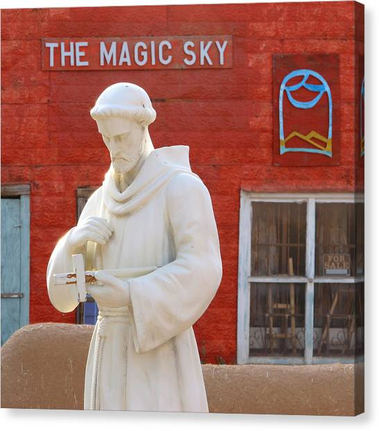 The Magic Sky Canvas Print