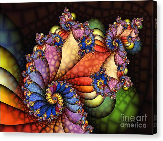 The Maharajahs New Hat-fractal Art Canvas Print