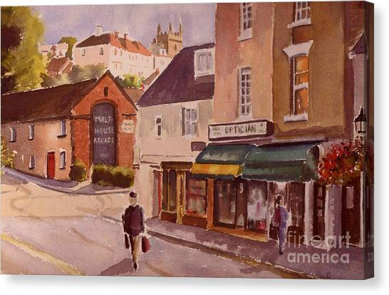 The Malt House Hythe Canvas Print