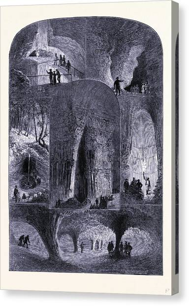 Mammoth Cave Canvas Print - The Mammoth Cave Kentucky United States Of America by American School