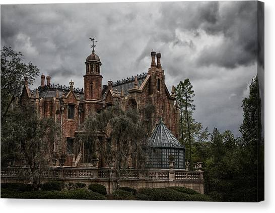 Orlando Magic Canvas Print - The Mansion by Nicholas Evans