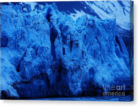 Margerie Glacier Canvas Print - The Margerie Glacier Vision # 1 by Marcus Dagan