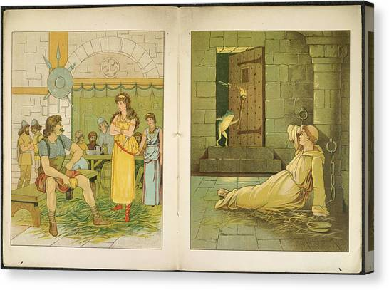 English And Literature Canvas Print - The Marsh King's Daughter by British Library
