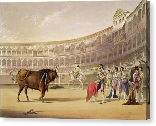 Madrid Canvas Print - The Matador by William Henry Lake Price