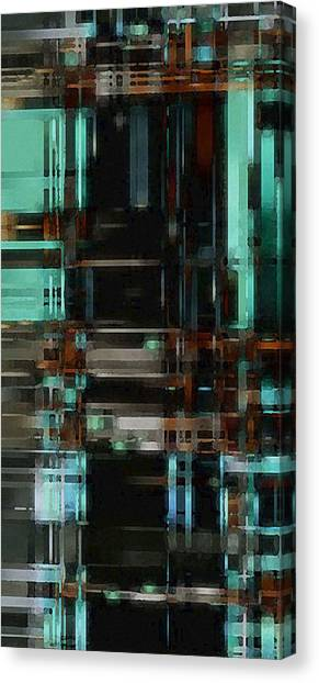 The Matrix 3 Canvas Print