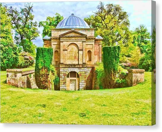 The Mausoleum Bowood -01 Canvas Print