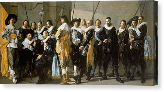 Rijksmuseum Canvas Print - The Meagre Company by Frans Hals