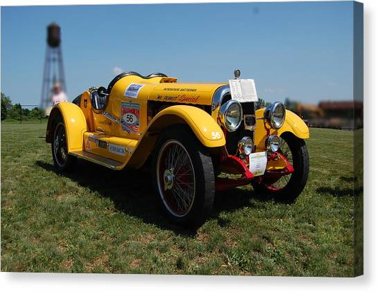The Mercer Raceabout Roadster Canvas Print