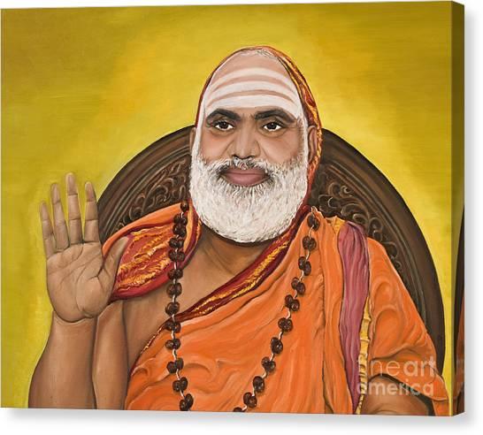 The Messenger Canvas Print by Sweta Prasad