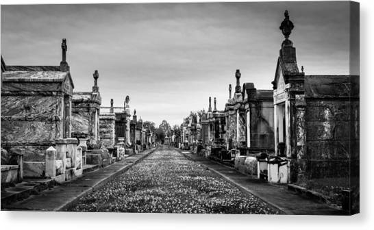 The Metairie Cemetery Canvas Print