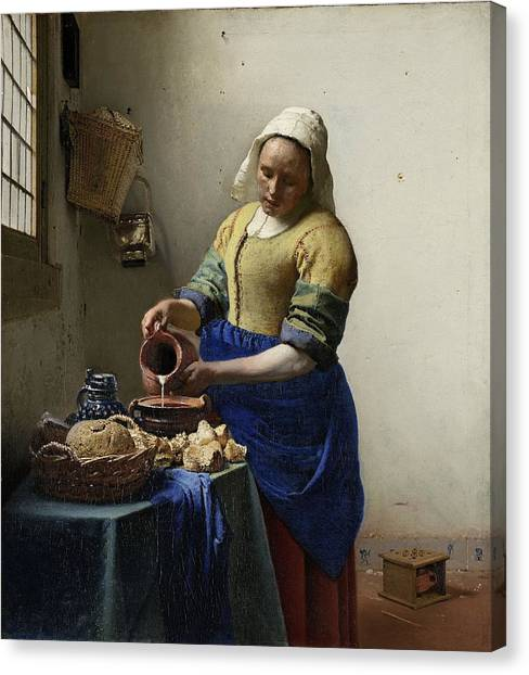 The Milkmaid Canvas Print