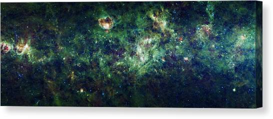 The Milky Way Canvas Print