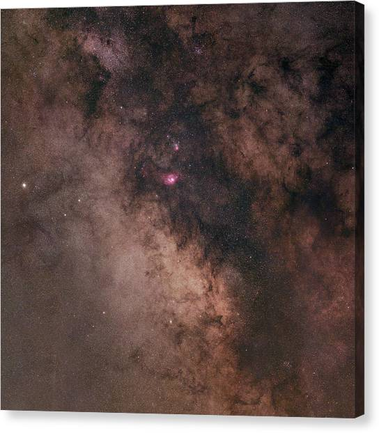 Summer Night Sky Canvas Print