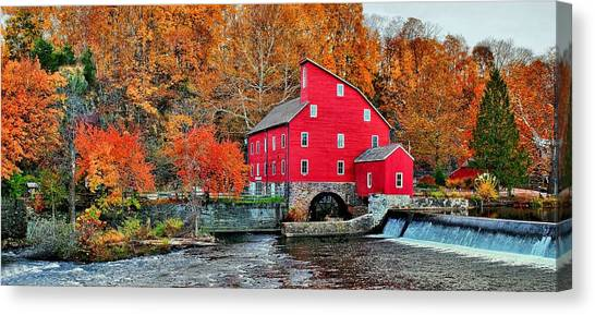 The Mill In Clinton Canvas Print