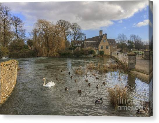 The Millhouse At Fairford Canvas Print