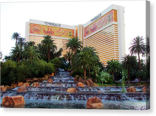 The Mirage Canvas Print by Andrea Dale