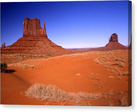 The Mittens Monument Valley Arizona Canvas Print