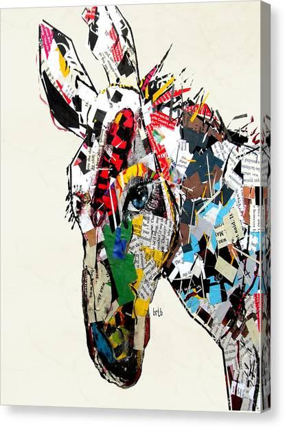 Media Canvas Print - The Mod Donkey by Bri Buckley
