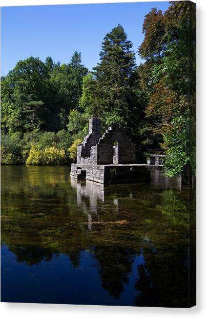 Early Christian Art Canvas Print - The Monks Fishing House, Part Of Cong by Panoramic Images