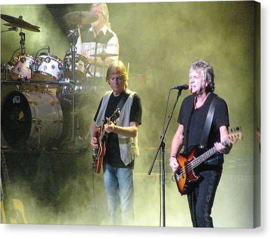 The Moody Blues In Concert Canvas Print