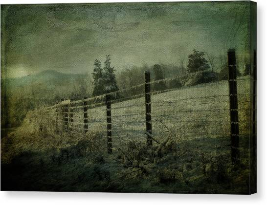 The Morning After Canvas Print by Kathy Jennings