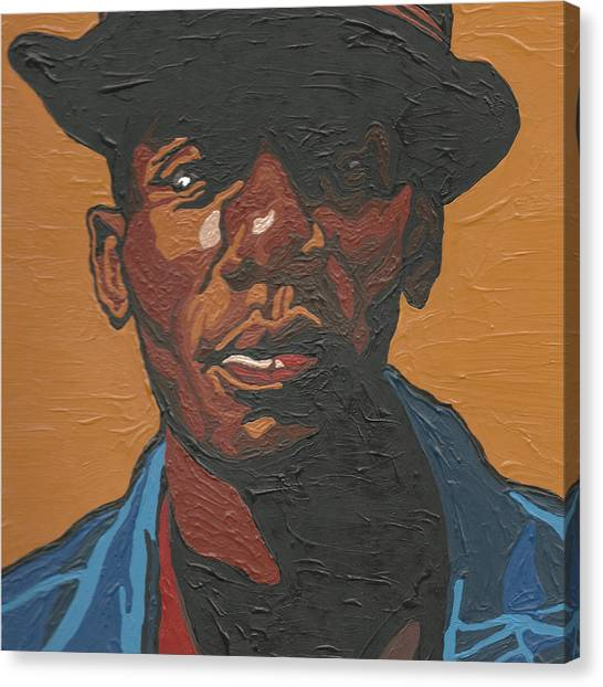 Hip Hop Canvas Print - The Most Beautiful Boogie Man by Rachel Natalie Rawlins