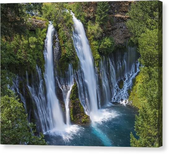 The Most Beautiful Waterfall Canvas Print