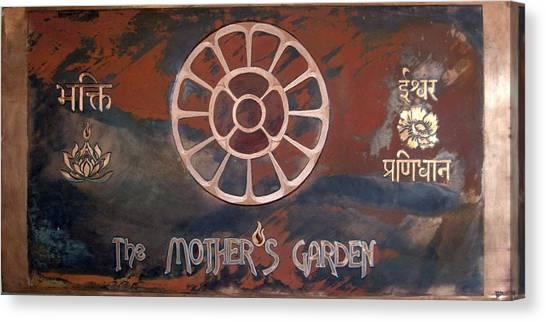 The Mother's Garden Canvas Print
