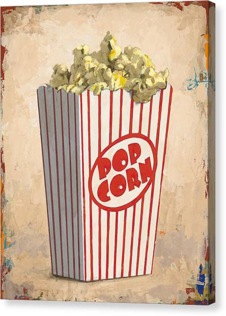 Meals Canvas Print - The Movies by David Palmer