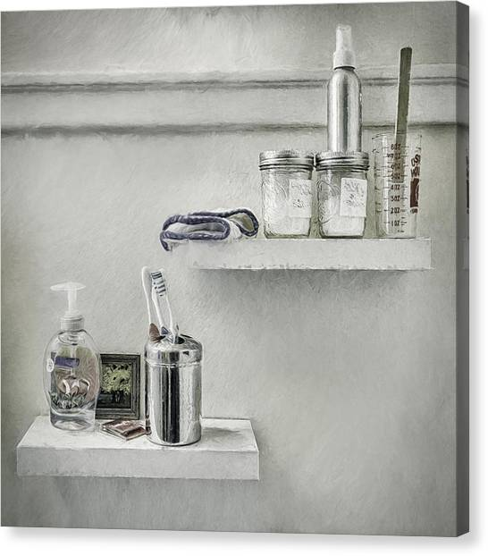 Toothbrush Canvas Print - The Mundane by Scott Norris