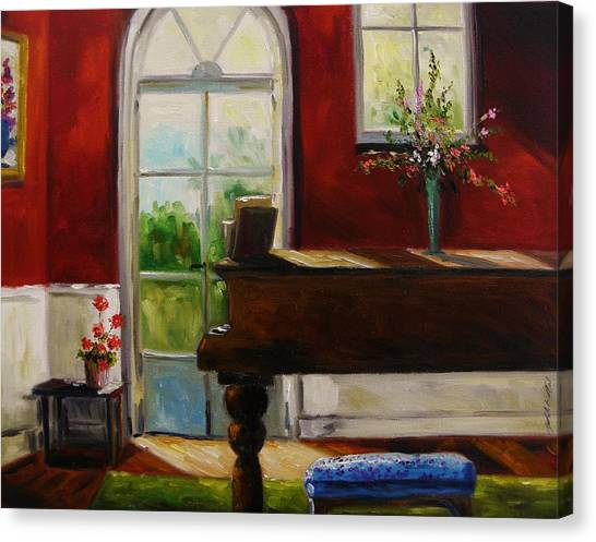 The Music Room Canvas Print