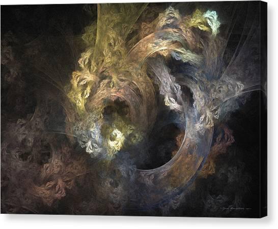 The Mystical Garden - Surrealism Canvas Print
