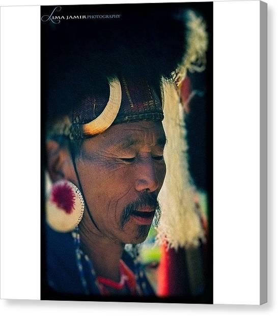 Hornbill Canvas Print - The Naga Warrior #naga #headhunter by Lima Jamir