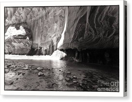 The Narrows Iv Canvas Print