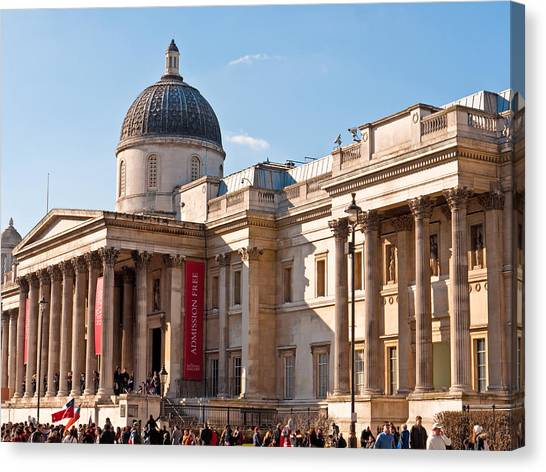 The National Gallery London Canvas Print