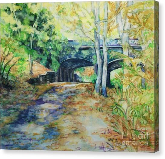 The Nethermead Arches Canvas Print