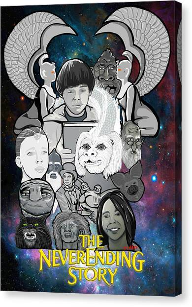The Neverending Story Canvas Print by Gary Niles