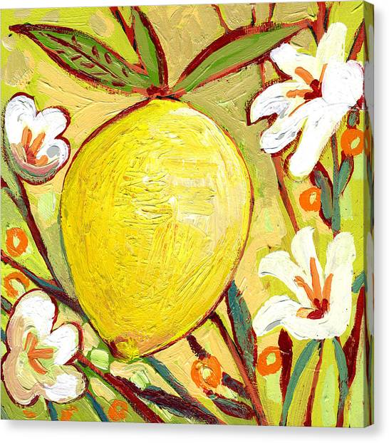 Fruit Trees Canvas Print - The Neverending Story No 2b by Jennifer Lommers