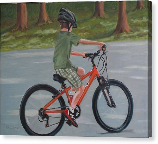 The New Bike Canvas Print