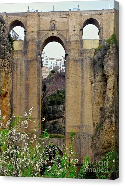The New Bridge Canvas Print