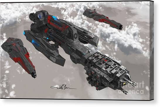 The New Imperial Fleet Canvas Print