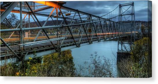 The Newell Bridge Canvas Print
