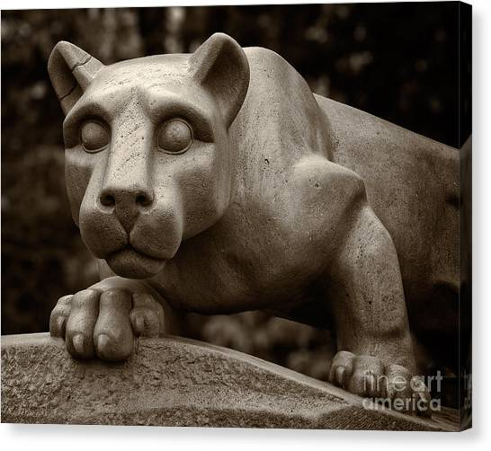 The Nittany Lion Shrine Canvas Print