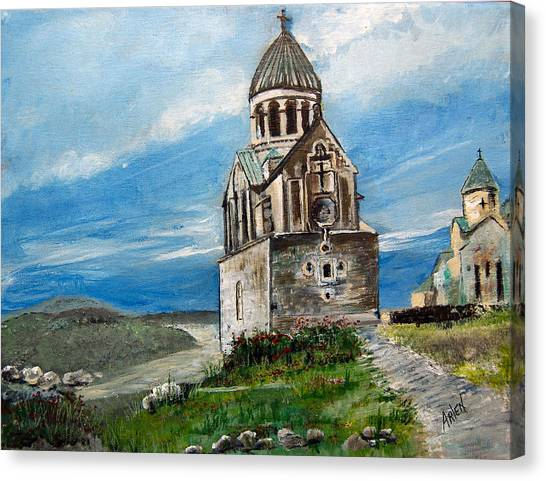 The Noravank Monastery Canvas Print