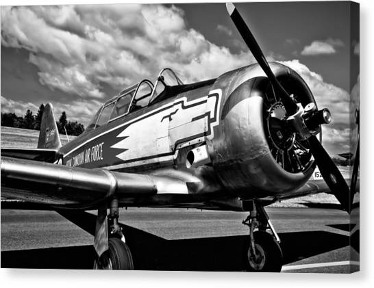 The British Museum Canvas Print - The North American T-6 Texan by David Patterson