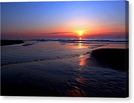 The North Sea Canvas Print